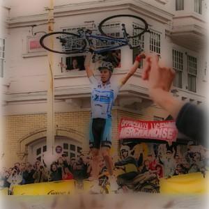 Gloomy Creed SanFran bike hoist