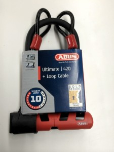 Abus Ultimate 420 plus loop cable