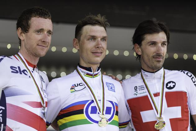 Worlds TT podium