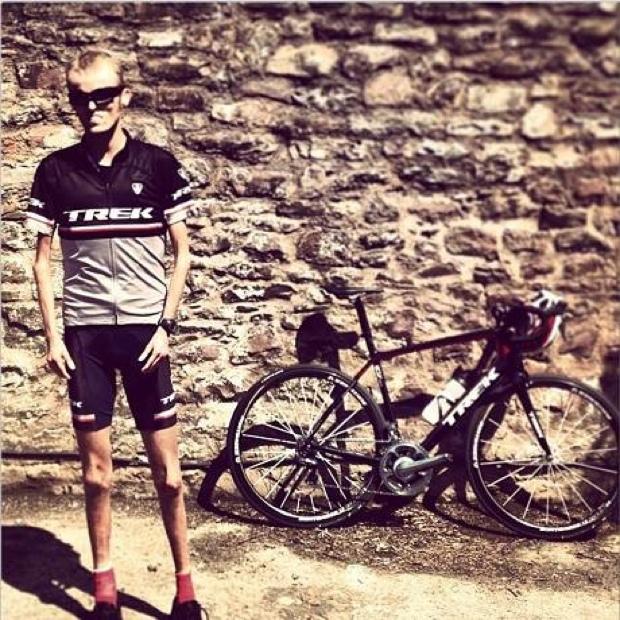 Tom and Trek bike