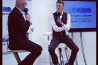 dapper Tom at the Cycle Show