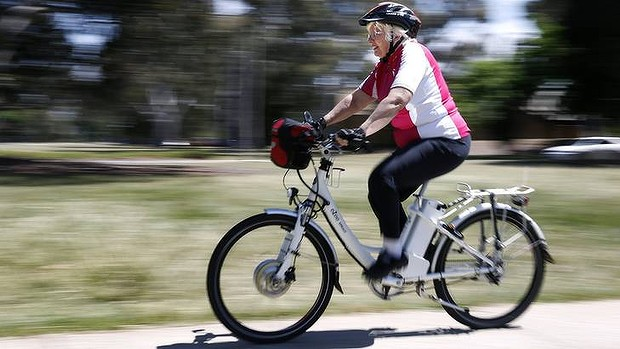getting in shape with electric bicycle