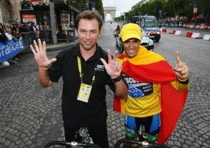 Bruyneel and Contador