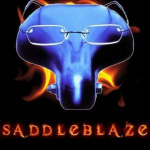 flaming saddles logo final