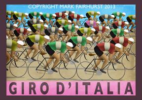 Photo: Retro cycling art.